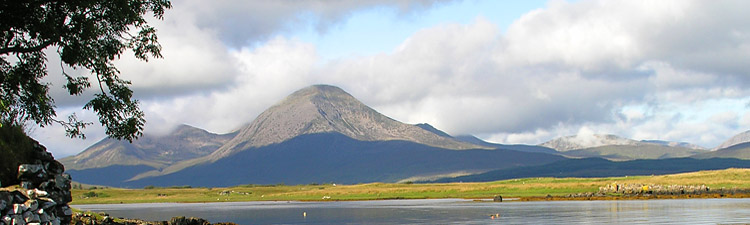 Beinn na Caillich and the Red Cuillin